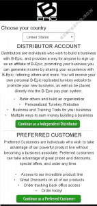 Bepic membership types choosing