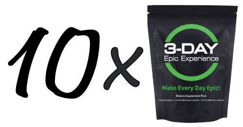 bepic epic supplement 3 day pack