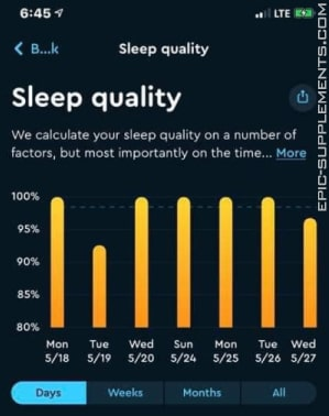 Acceler8 Sleep review from Michigan