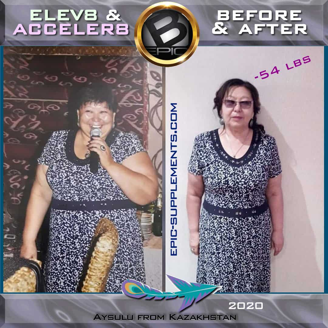 Slimming results with bepic pills