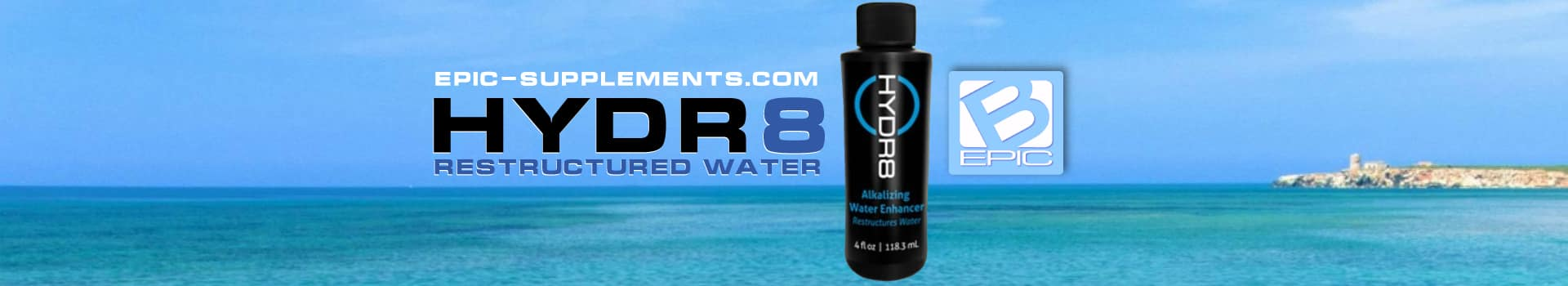 hydr8 bepic structured water