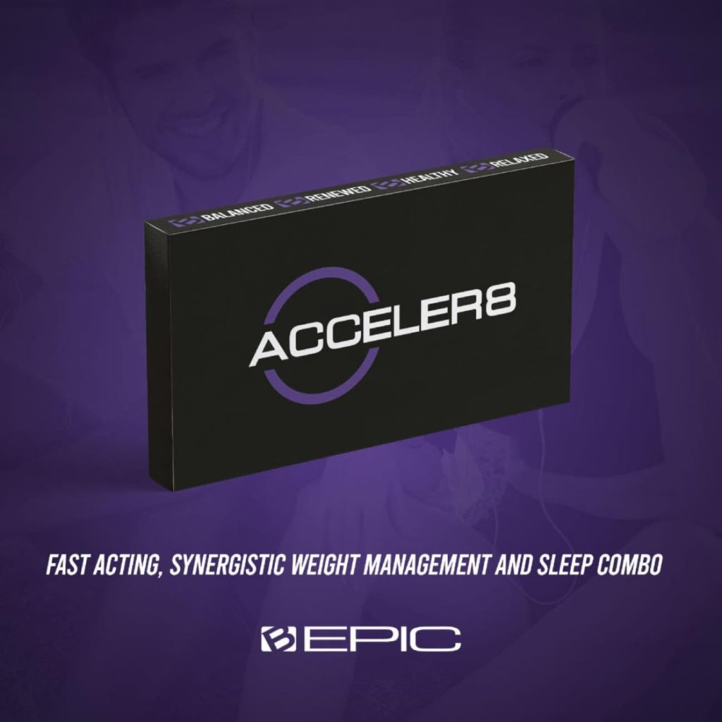 B-Epic's Acceler8 is a fast-acting all-natural supplement