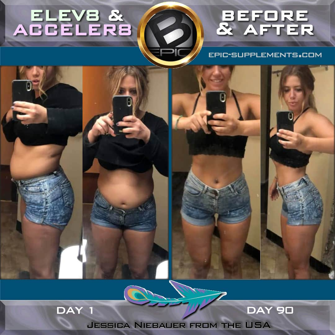 Acceler8 and Elev8 Pills results of weight loss