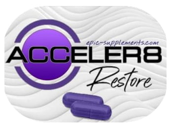 Acceler8 Restore violet pills