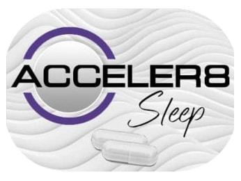 Acceler8 Sleep white pills