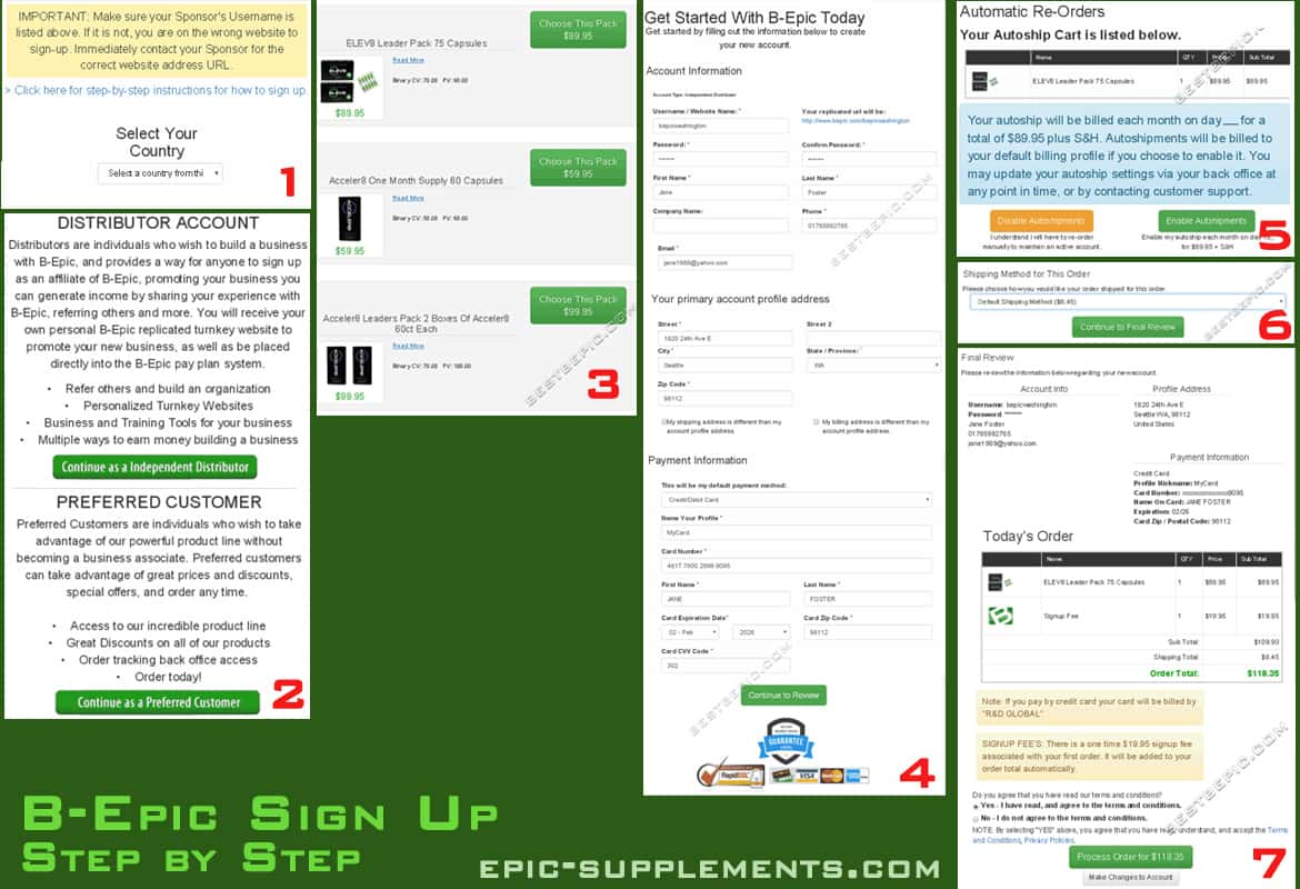 How to join BEpic on b-epic official website: sign up step by step instruction