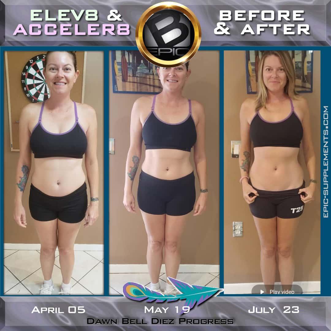 bepic elev8 - slimming progress photo