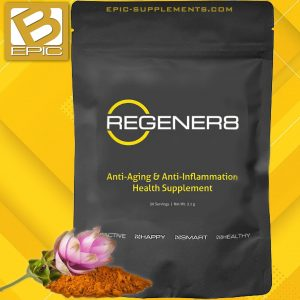 Bepic Regener8 Tea with Curcumin