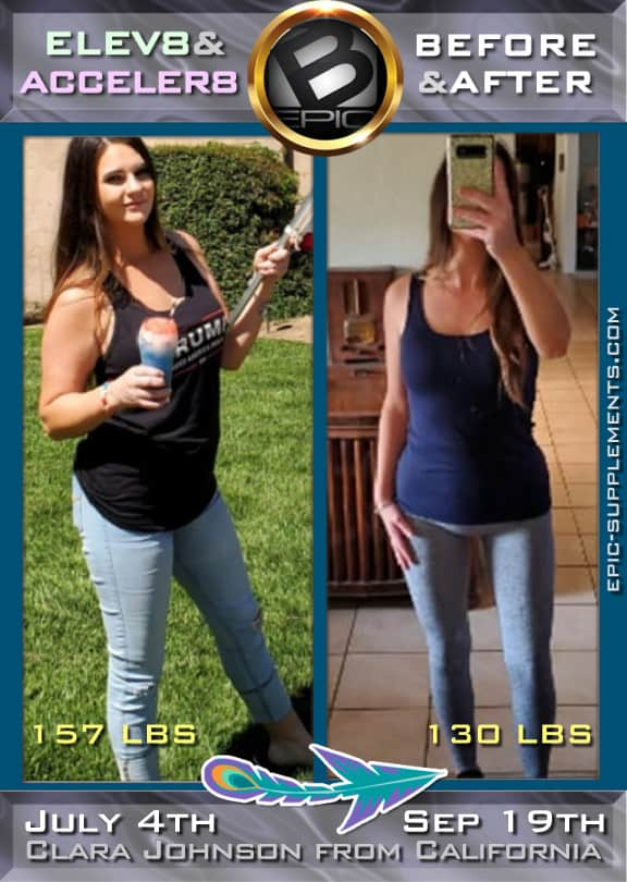 B-epic's 3pill system - real weight loss results