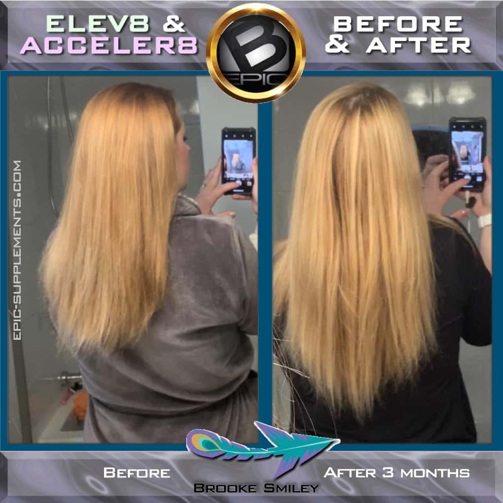 BEpic 3 color capsules for fast hair growth