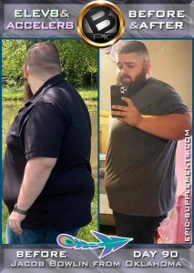 man slimming progress with bepic pills system (photo)