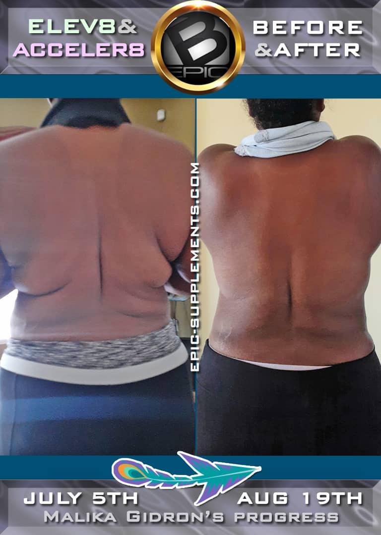 slimming progress with bepic pills (photo)
