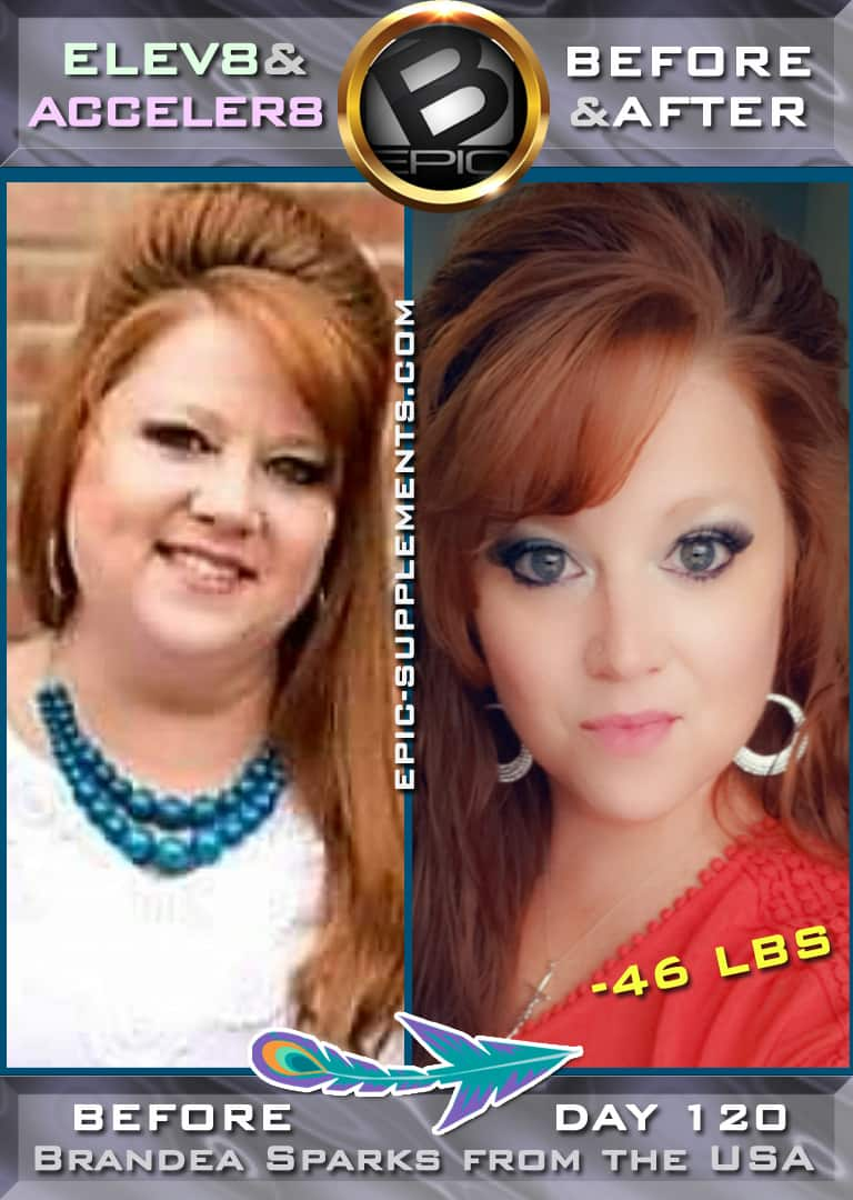 woman fast slimming progress with bepic pills system (photo)