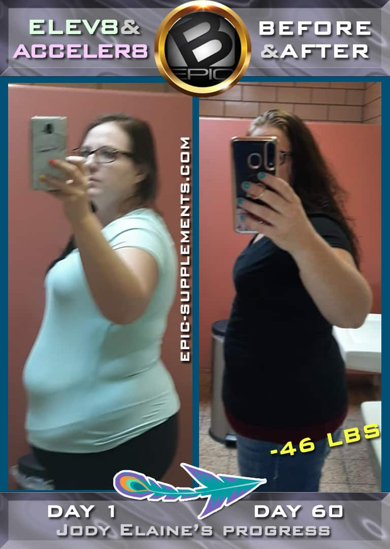 weight control progress with b-epic-3 pill system (photo)