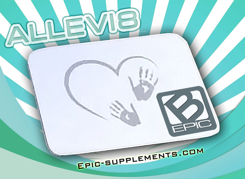 Allevi8 - b-epic's patches for stress & anxiety relief  and relaxation