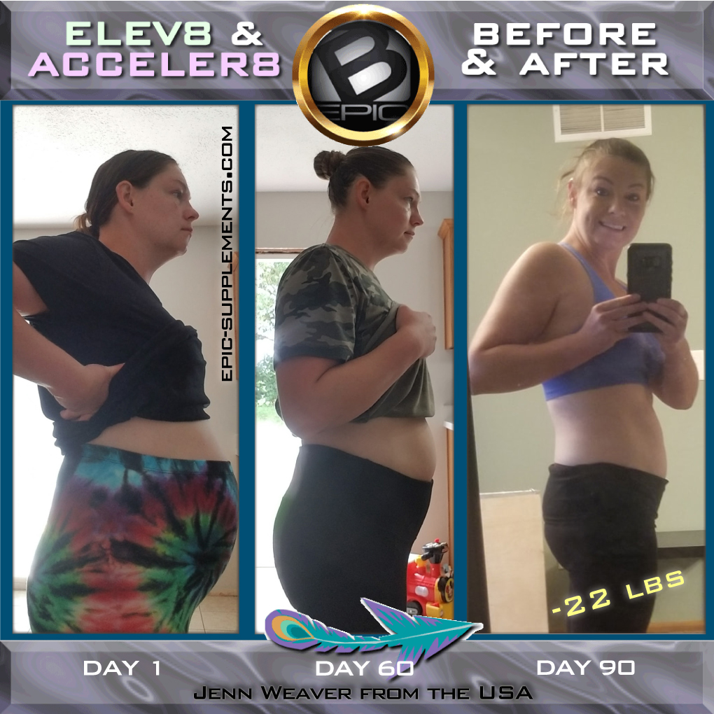 b-epic Elev8/Acceler8 pills (weight loss, energy,  ptsd, vitamin D deficiency review)