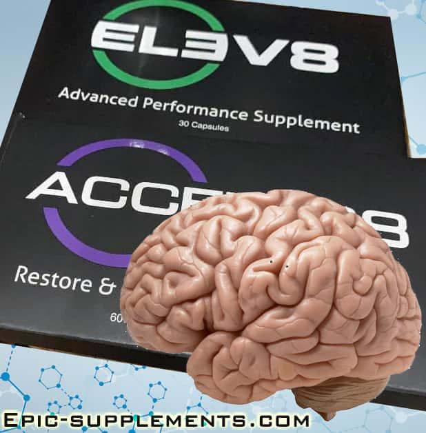 Bepic pills Elev8 & Acceler8 for mental/brain health