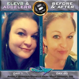 visual transformation with bepic's Elev8/Acceler8 pills (before and after pics)