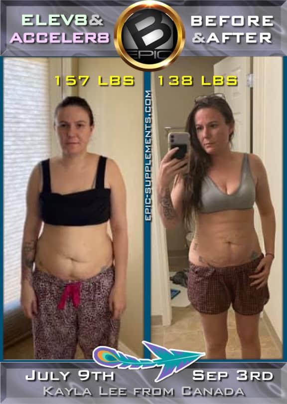 visual slimming with bepic Elev8 green pills (pics)