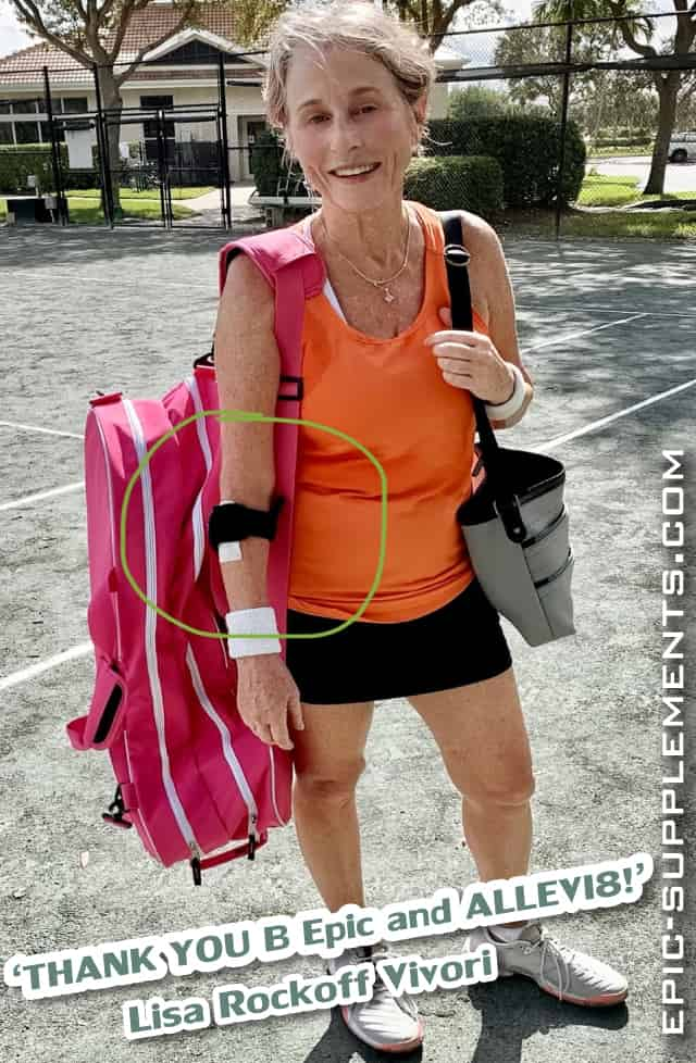 Allevi8 Bepic patches sportswoman review from Florida