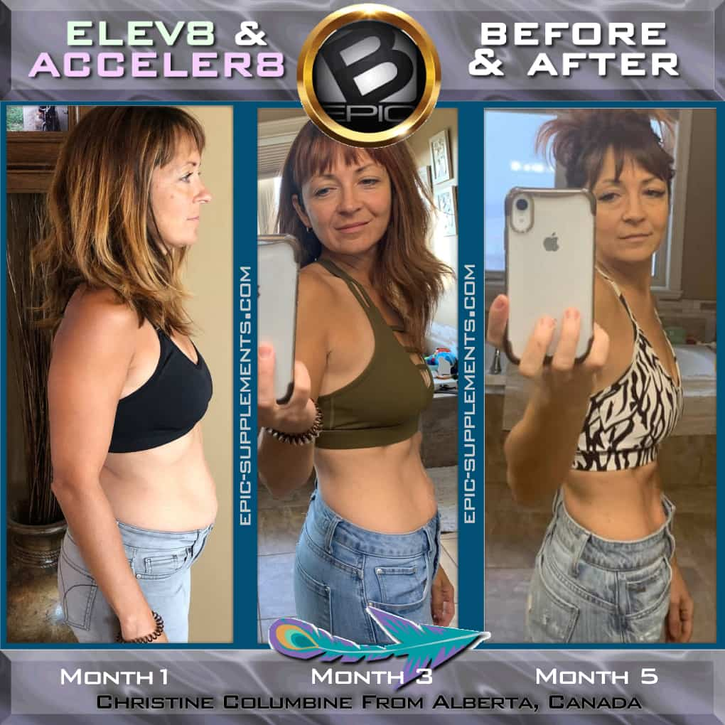 weight loss with hormonal changes (testimonial)