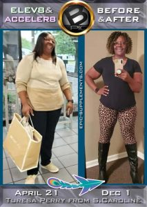 results of Bepic Elev8 taking for slimming (review from South Caroline)
