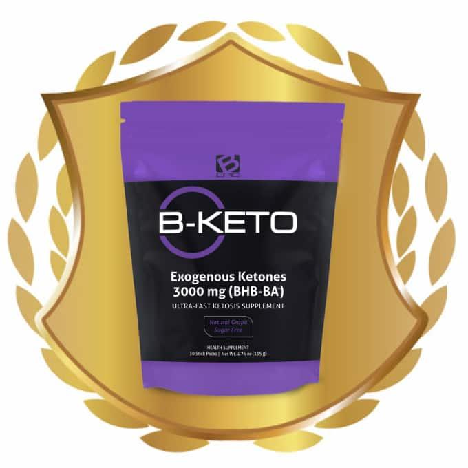 B-Keto with Ketones