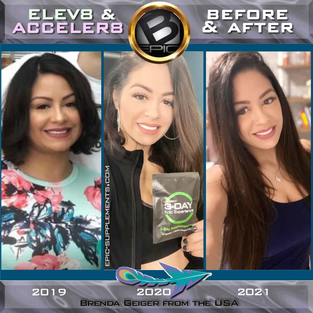 Elev8 & Acceler8 for weight control (before and after pics))