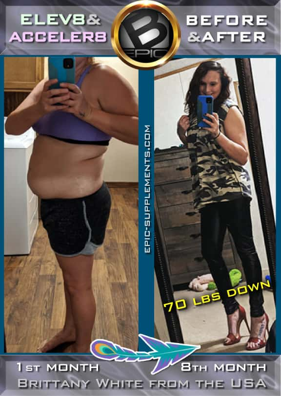 Elev8 & Acceler8 B-Epic Pills for weight control (before and after pics)