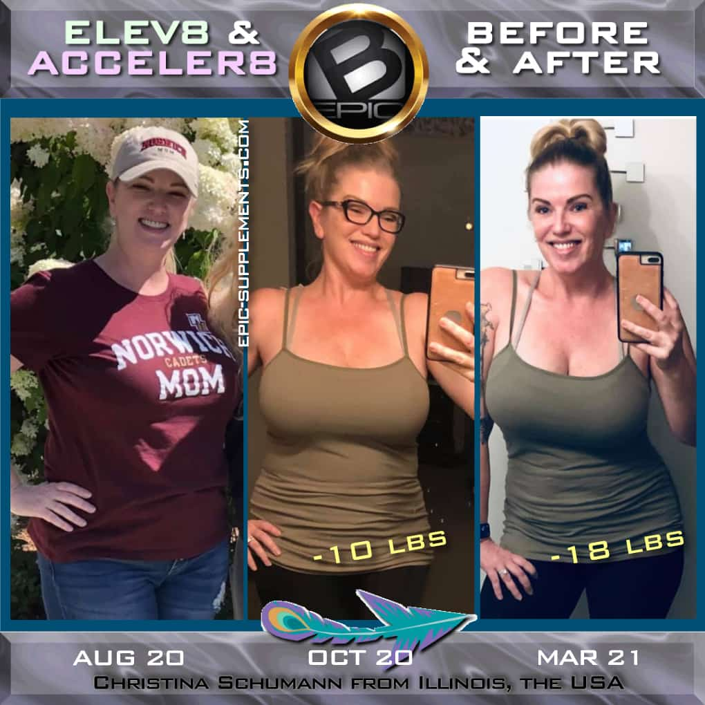 BEpic pills effect for weight loss (real photos)