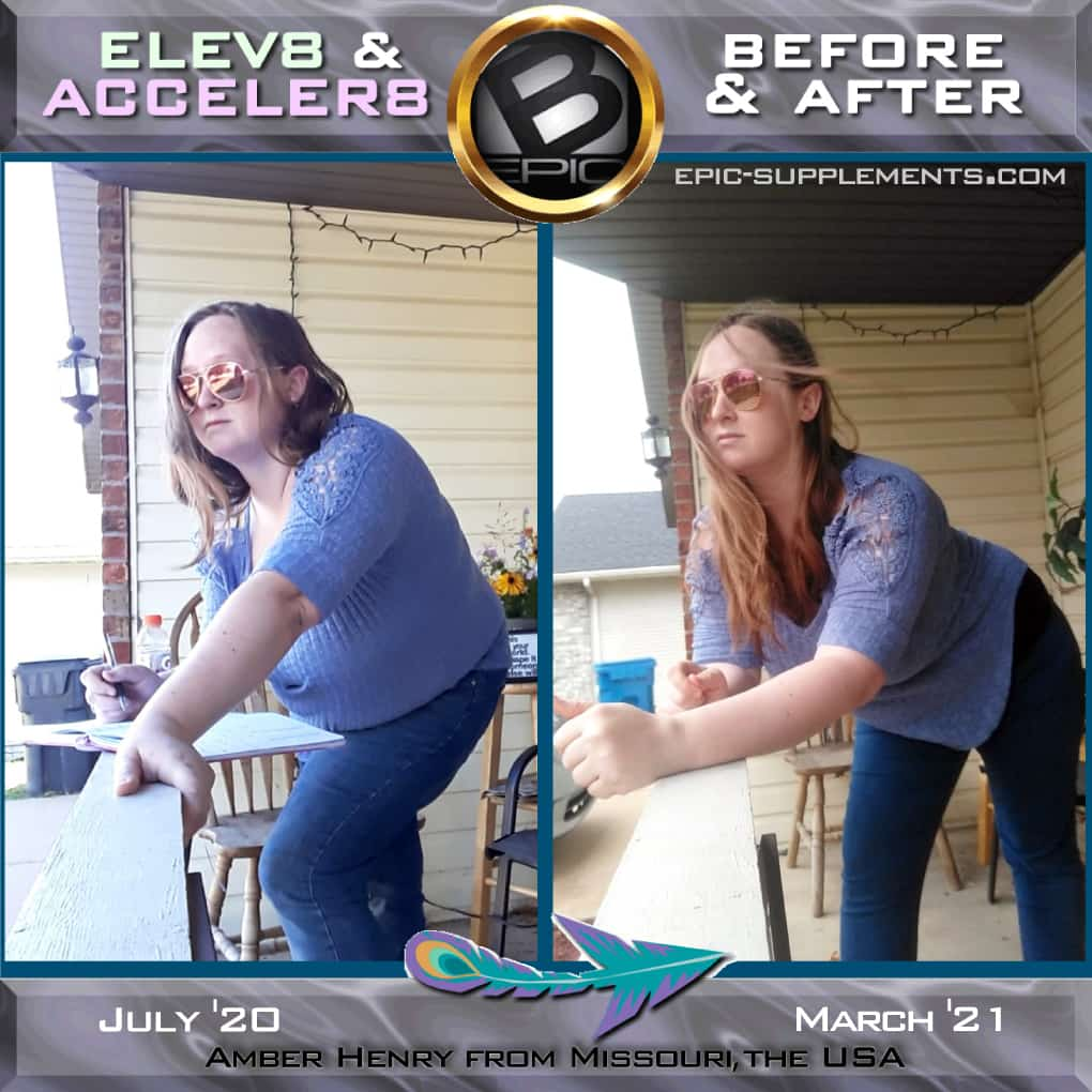 BEpic;s Elev8 & Acceler8 system for weight loss (before and after real photo)
