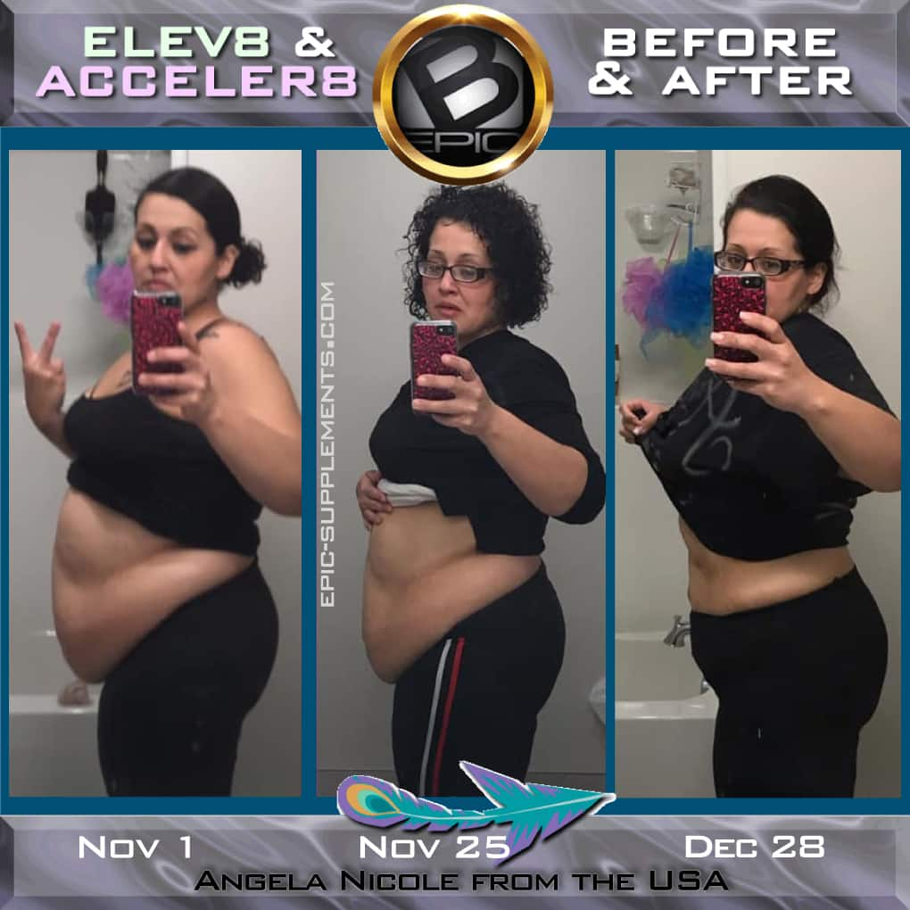 B-Epic 3 pills system: before and after effect
