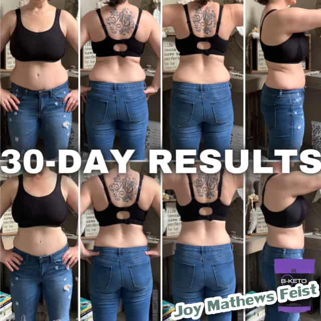 Weight loss progress with BEpic;s b-keto (review from USA)
