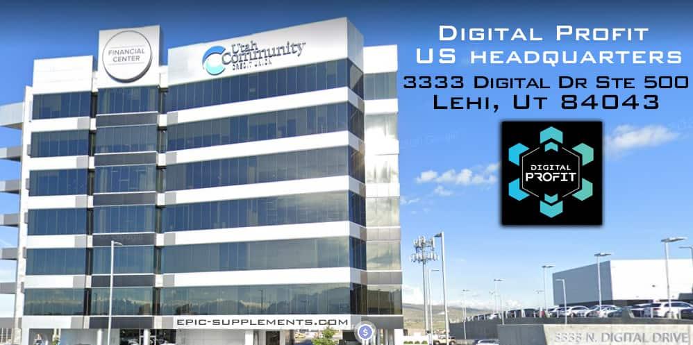 Digital Profit Headquarters in Utah