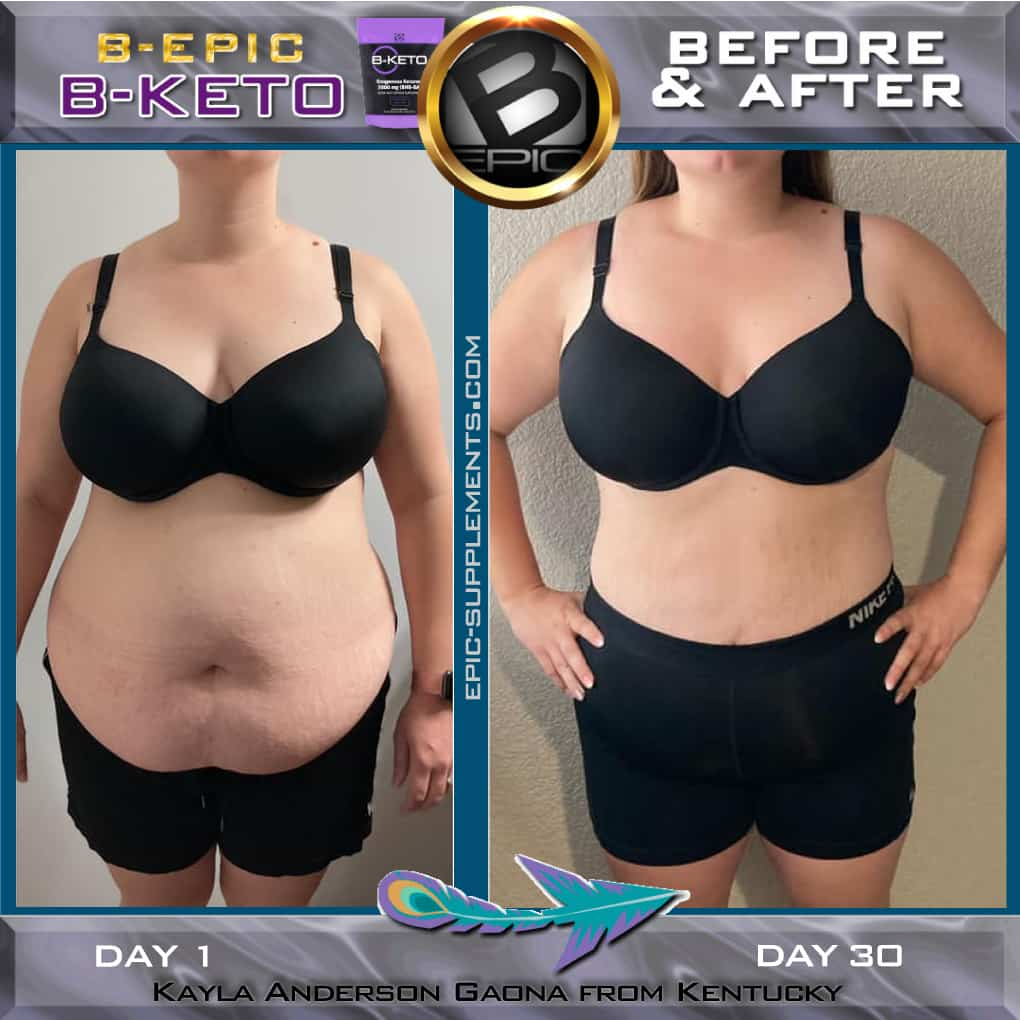 Bepic B-keto slimming effect (photo)