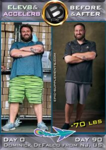 BEpic B60 for weight loss (before and after)