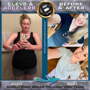 Pictures before and after - weight loss with Bepic supplements