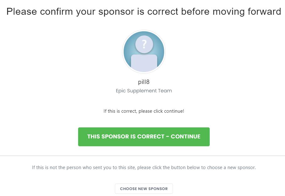 confirm bepic Sponsor's name