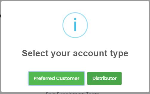 Bepic membership types choosing (with Buy menu)