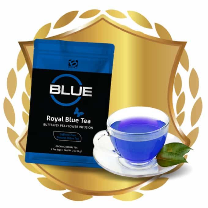 BEpic blue tea logo