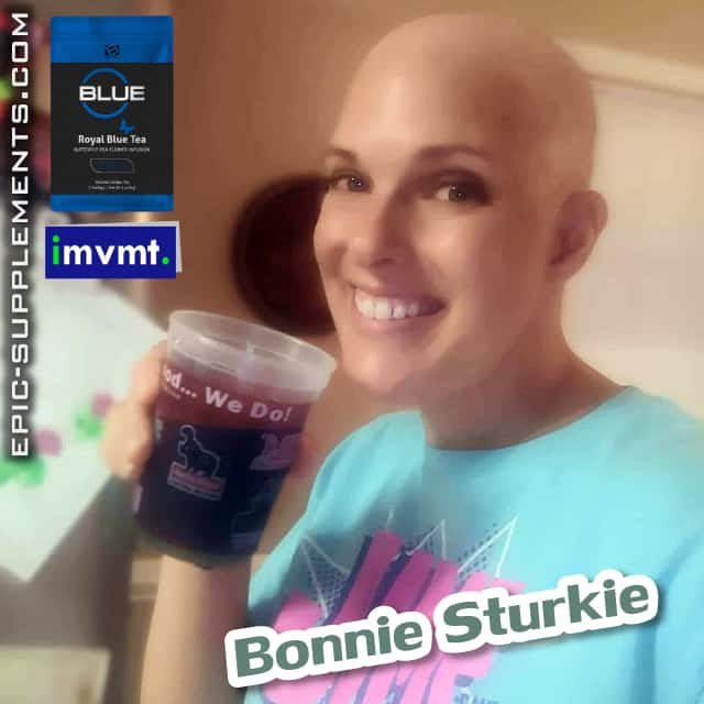 Customer review on BEpic Royal blue tea after chemo therapy