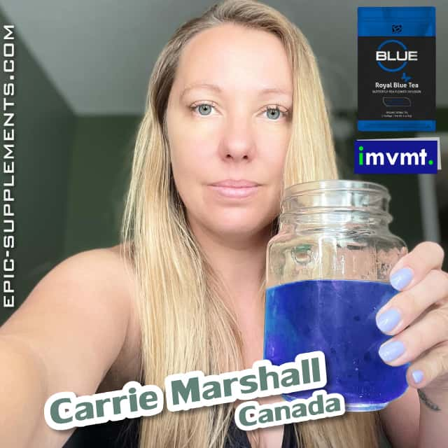 Review on BEpic Royal blue tea (by customer from Canada)