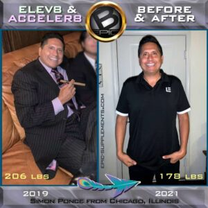 weight loss with Elev8/Acceler8 by BEpic (review from Chicago)