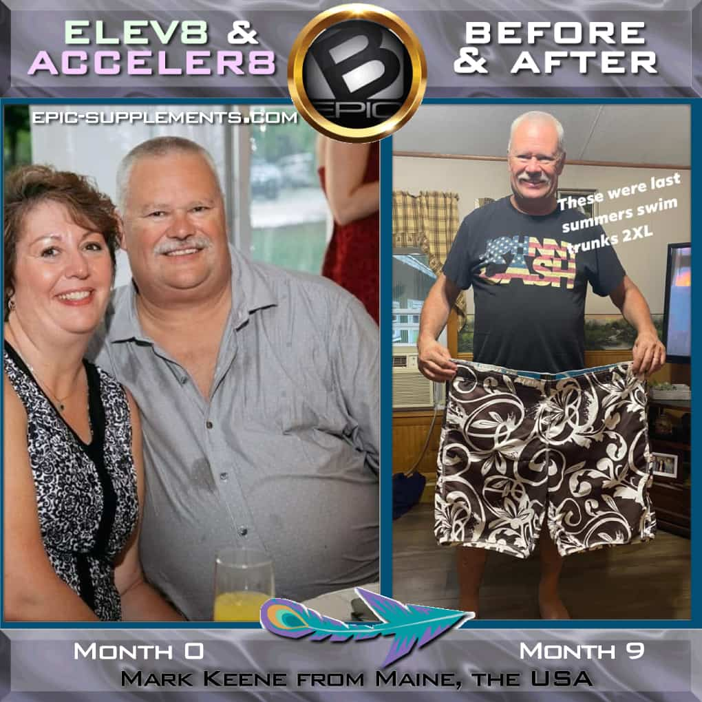weight loss with bepic 3 capsule system (review from Maine, US)