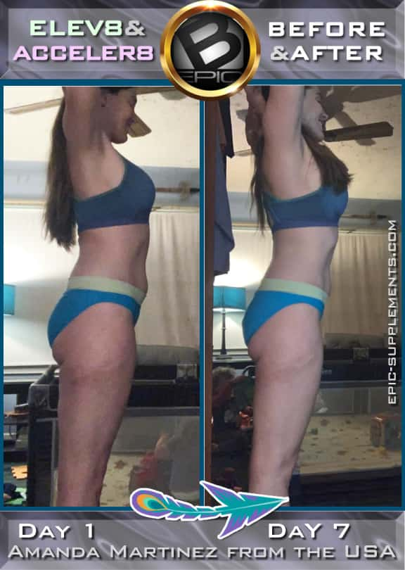 bepic 3 pills system: one week weight loss results